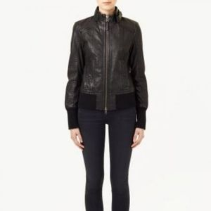 Mackage for aritzia Jerry bomber leather j…